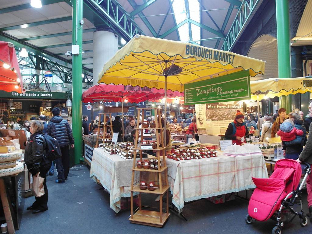 [英國 倫敦]  Borough Market 波羅市場 倫敦必逛平價美食市集