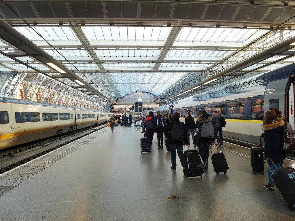[歐洲] 歐洲之星網路購票教學、搭乘心得 巴黎往返倫敦最方便的交通方式
