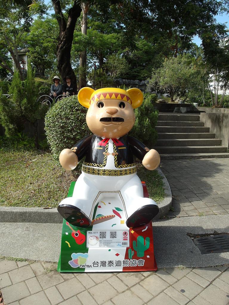 [台中 中區] 2015 台中公園泰迪熊樂活熊城市嘉年華 不專業泰迪熊造型評比