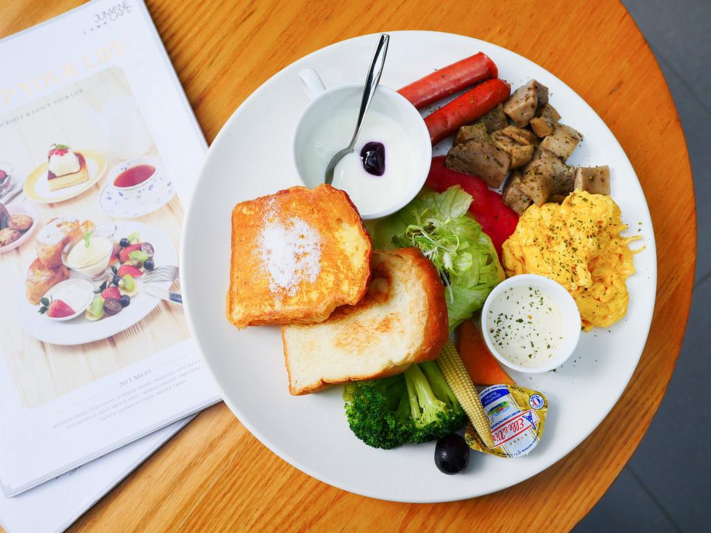 台北中山|佐曼咖啡館 輕。食。微。旅異國 輕食饗宴 中山區咖啡廳推薦