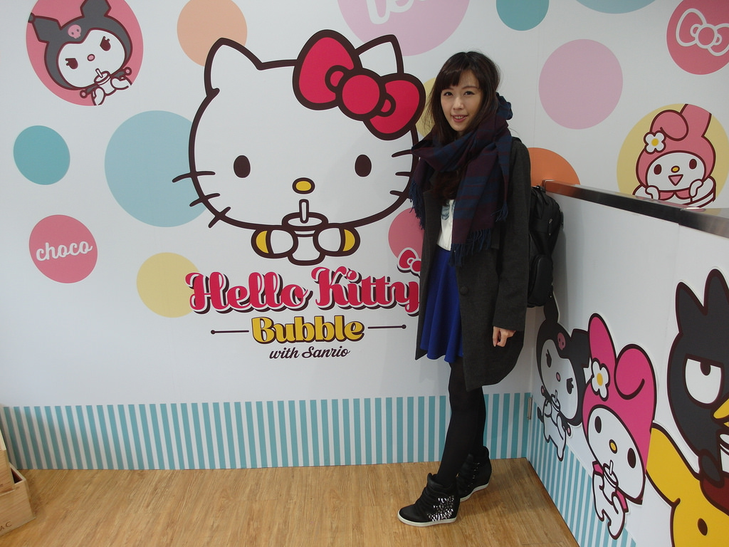 [台北 大安] Hello Kitty Bubble 少女最愛三麗鷗授權手搖飲料店