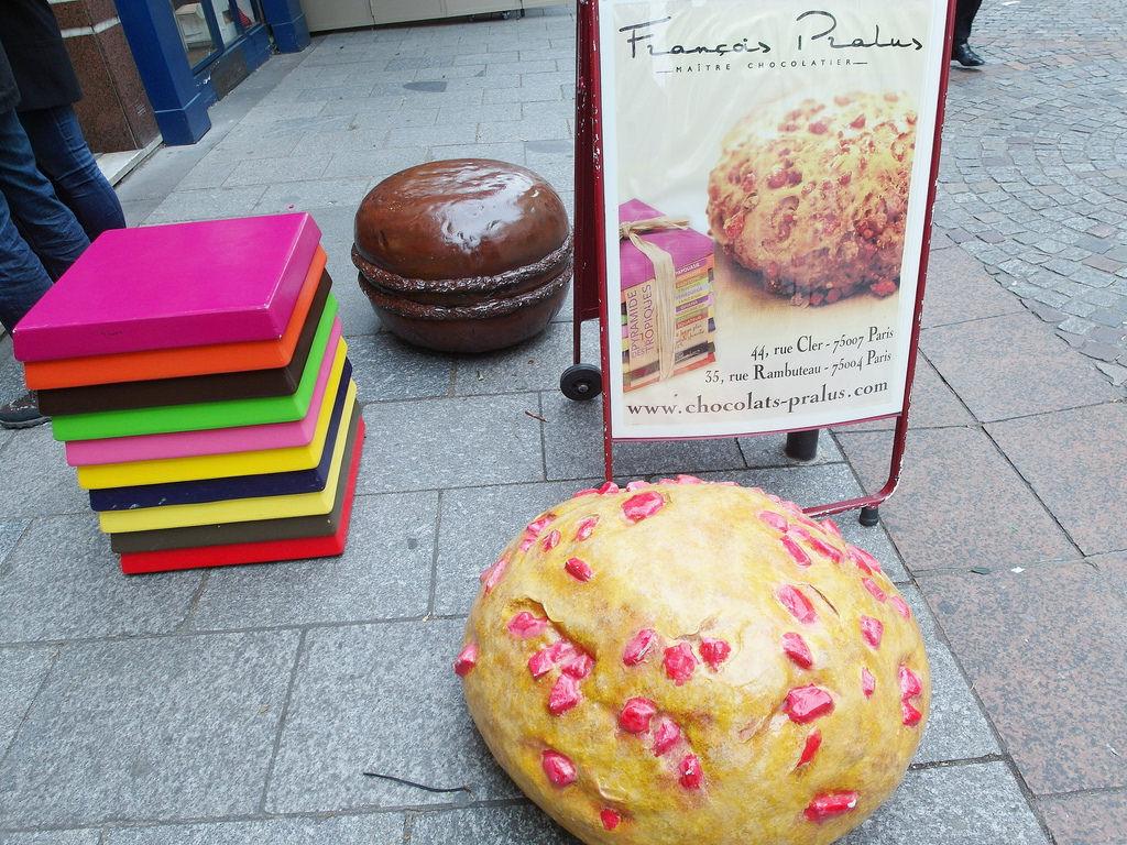 [法國 巴黎 甜點] Pralus 玫瑰杏仁糖麵包 Praluline、熱帶金字塔 Tropical Pyramid