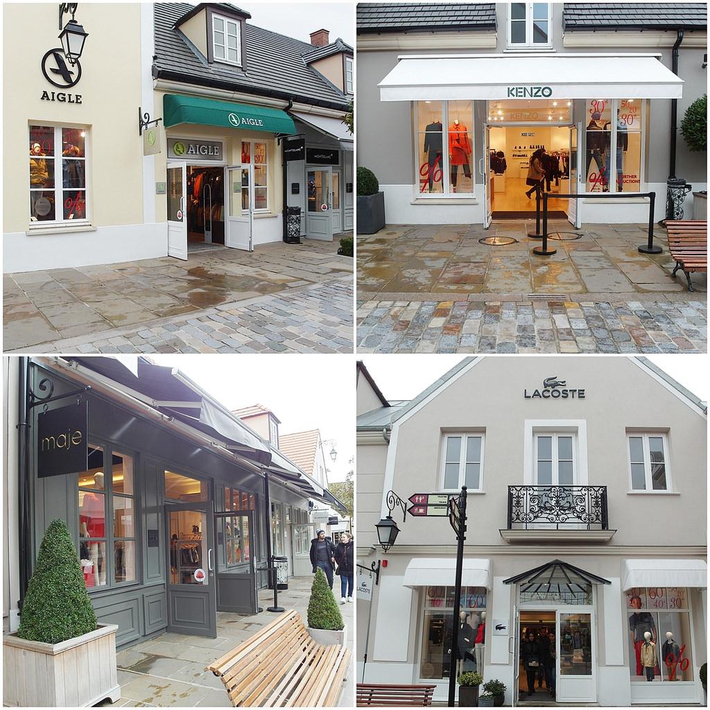 [法國 巴黎] La Vallee Village Outlet 山谷購物村 巴黎逛街地圖