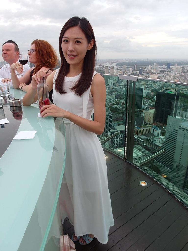 [泰國 曼谷] 超美夜景醉後大丈夫拍攝場景 Sirocco Sky Bar