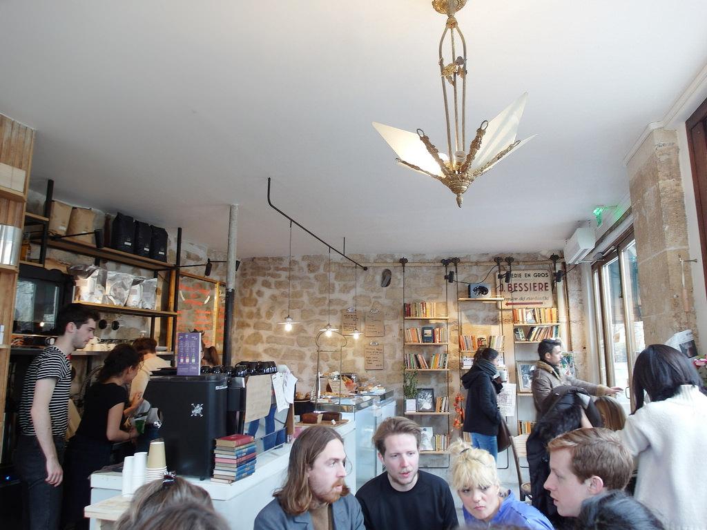 [法國 巴黎] 莎士比亞書店 莎士比亞書店咖啡 巴黎必訪電影場景