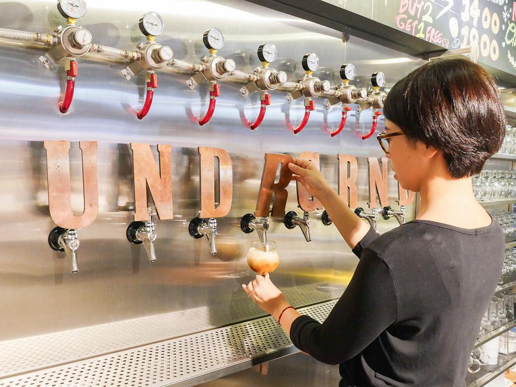 [台北 信義] URBN underground 蔬食料理與精釀啤酒的結合 台北信義新天地美食
