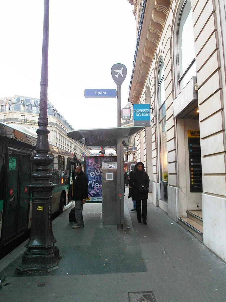 [法國 巴黎] 戴高樂機場往返市區交通方式 Roissy Bus 搭乘經驗分享