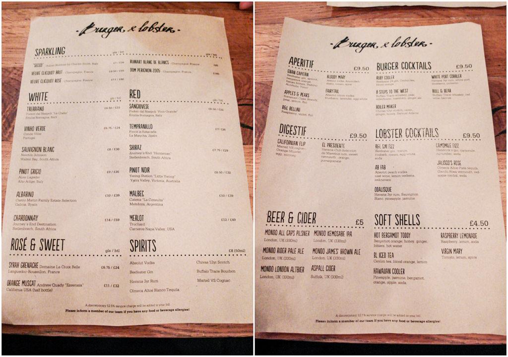 [英國 倫敦] Burger & Lobster 大口吃龍蝦 倫敦必吃美食