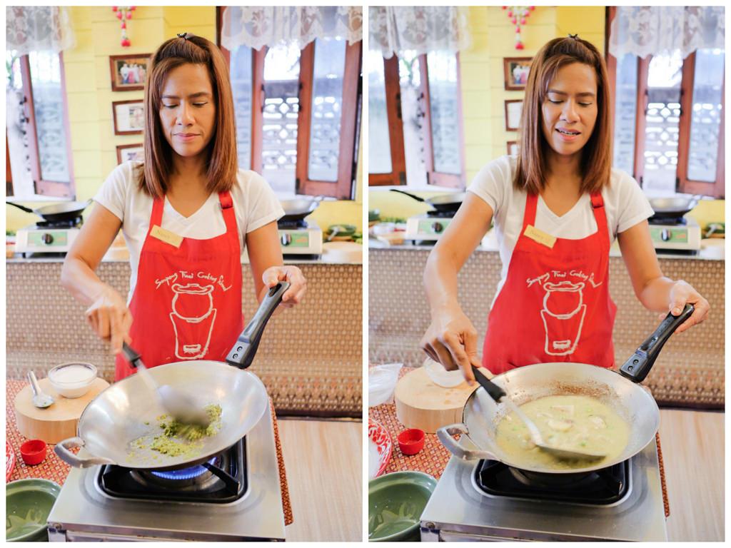 曼谷廚藝教室 Sompong Thai Cooking School 道地泰國菜課程教學