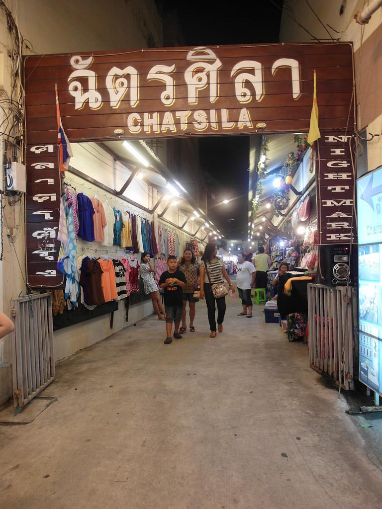 [泰國 華欣] 華欣市區必逛夜市 Chatchai夜市 + Chatsila夜市