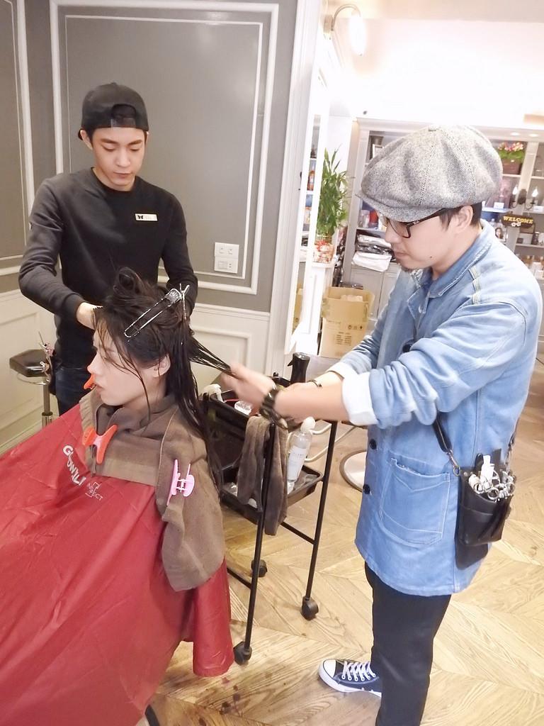 [台北 中山] BonBon Hair 結構式護髮+染髮+剪髮 2016春天新髮色