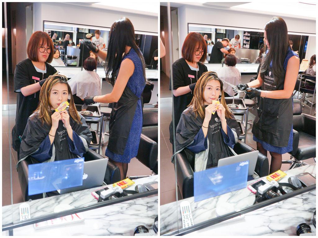[美髮] Rainbow Hair 換上秋冬藍灰新髮色 哥德式護髮+染髮+剪髮