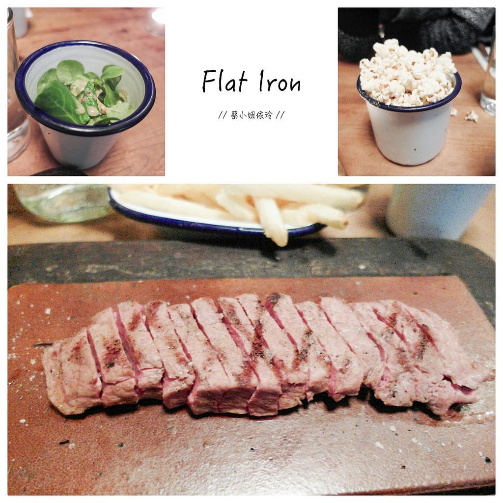 [英國 倫敦] Flat Iron 美味牛排 倫敦必吃平價美食